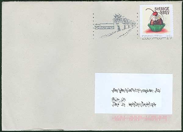 porto inrikes brev